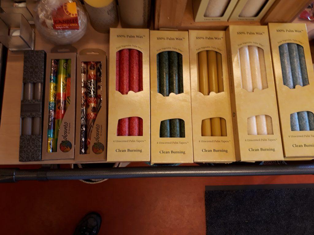 Wereldwinkel Haren assortiment - kaarsen